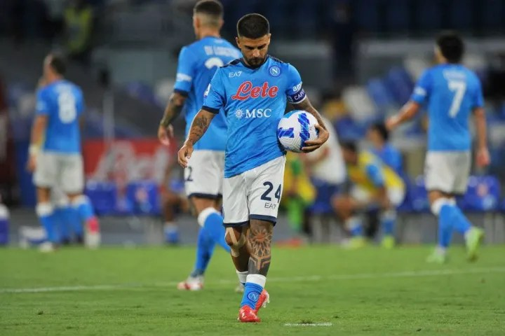 Lorenzo Insigne player of Napoli, during the match of the ...