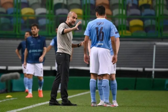 Guardiola was arguably guilty of over thinking last season's Lyon tie
