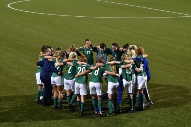 Northern Ireland v Ukraine: UEFA Women's Euro 2022 Play-off