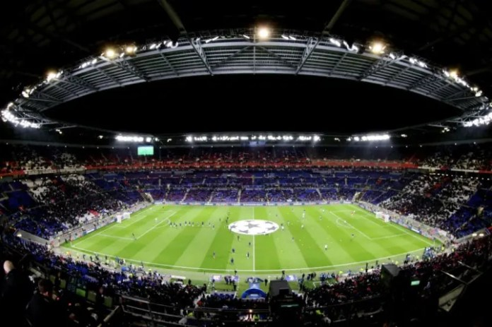 Olympique Lyon v Juventus - UEFA Champions League Round of 16: first leg