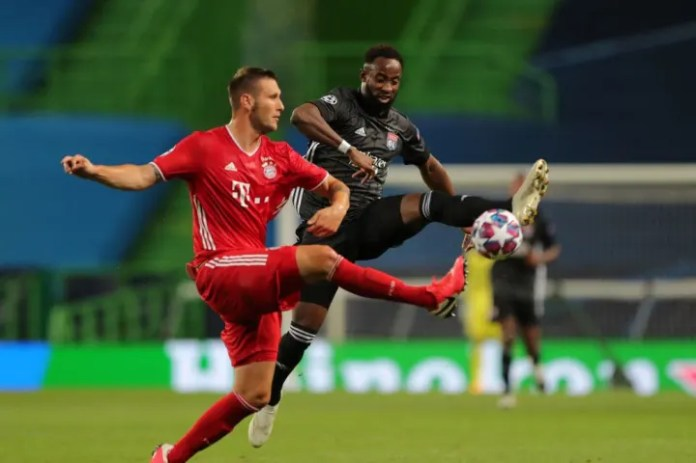 Sule came on at half time to replace Boateng.