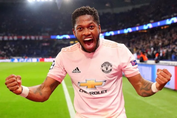 Fred joined from Shakhtar Donetsk for £47m