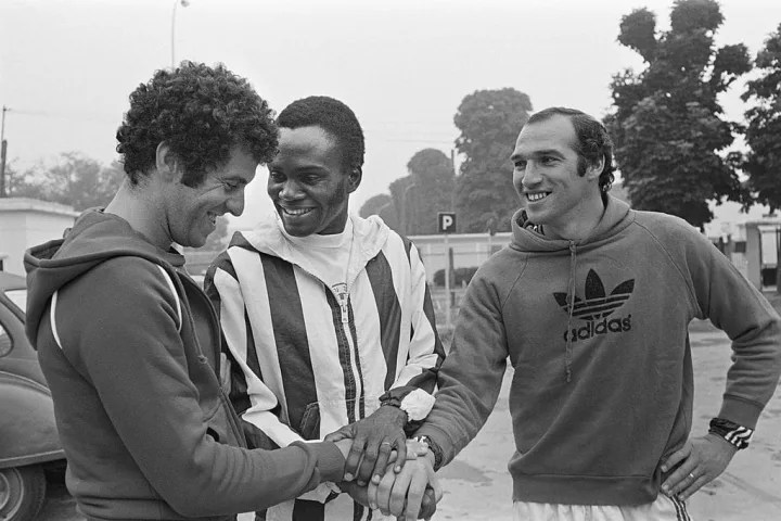 Picture released on July 13, 1977 of PSG