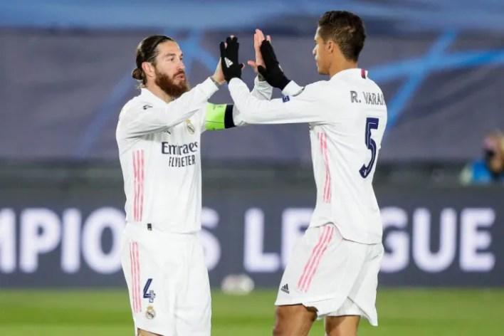 Raphael Varane and Sergio Ramos played together for years