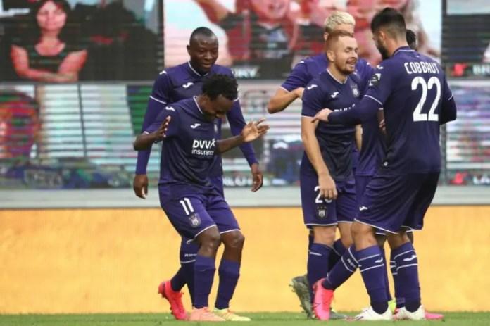 Forma e Tau për Anderlecht në 2020/21 ka parë që Vincent Kompany ta veçojë për lavdërime të veçanta