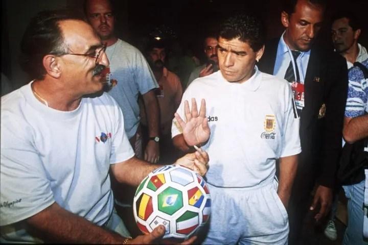 SOCCER-WORLD CUP-1994-DIEGO MARADONA