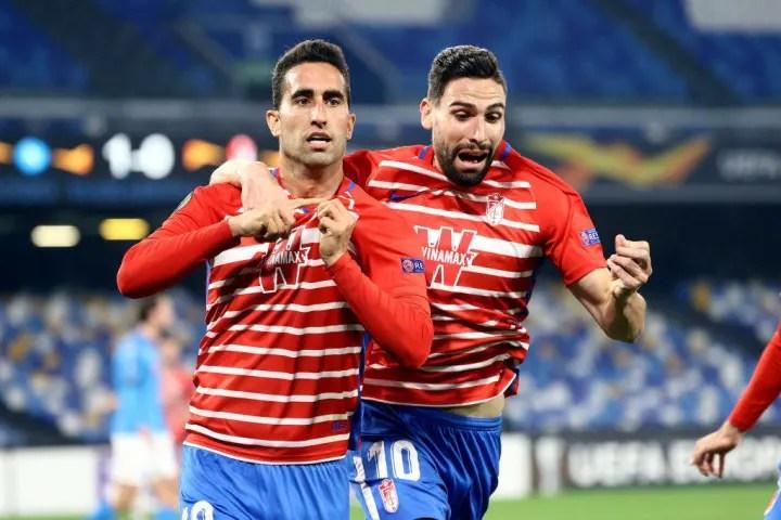 Granada progress to the last 16 of the Europa League