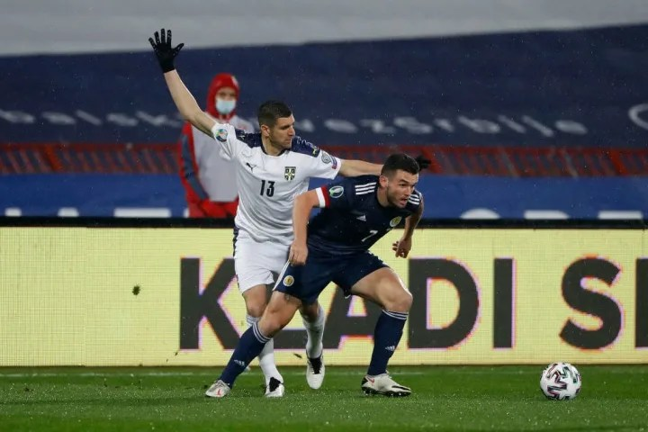 Stefan Mitrovic, John McGinn