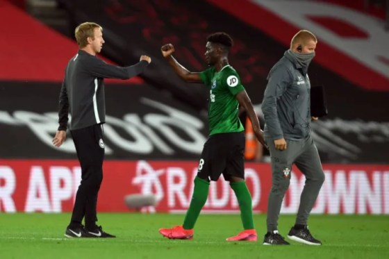 Yves Bissouma has thrived under the direction of Graham Potter