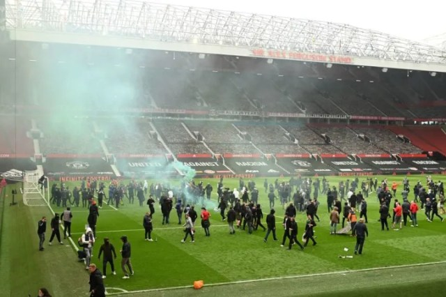 The Premier League & FA have condemned the scenes at Old Trafford when fan stormed the stadium