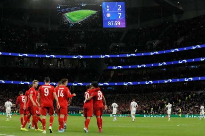Tottenham Hotspur v Bayern Munich