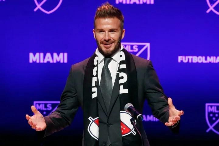 David Beckham's Inter Miami club began playing in MLS in 2020