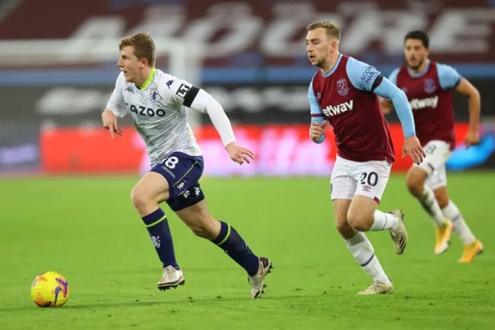 Targett didn't stand much chance with West Ham's opener