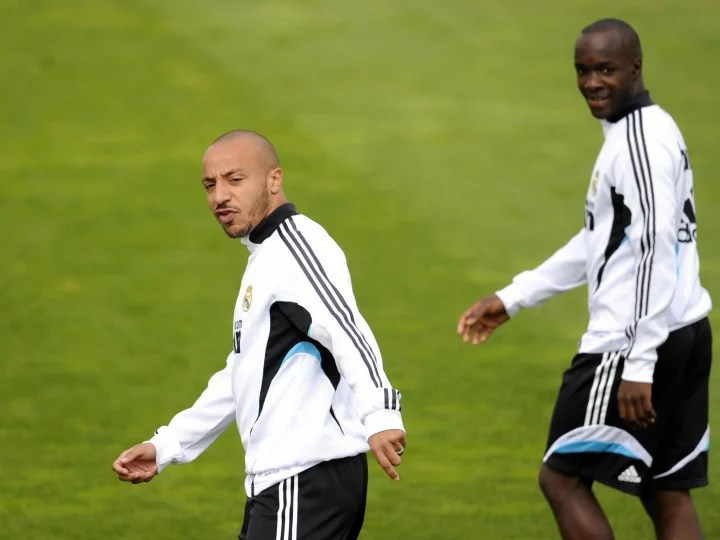Real Madrid's French midfielders Julien