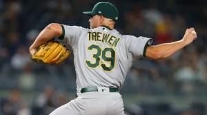 Dodgers Sign Former A's All-Star Reliever Blake Treinen