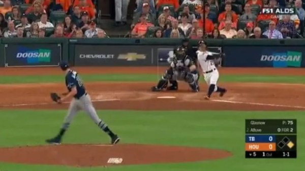 VIDEO: Watch Jose Altuve Put Houston on Top With 2-Run Homer in Game 1 of ALDS