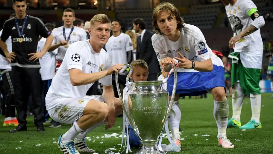 Toni Kroos & Luka Modric Named in UCL Squad to Face PSG After ...