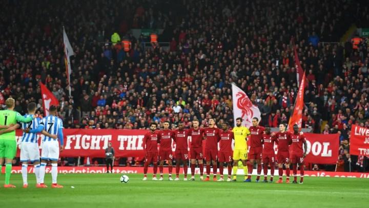 Liverpool FC v Huddersfield Town - Premier League