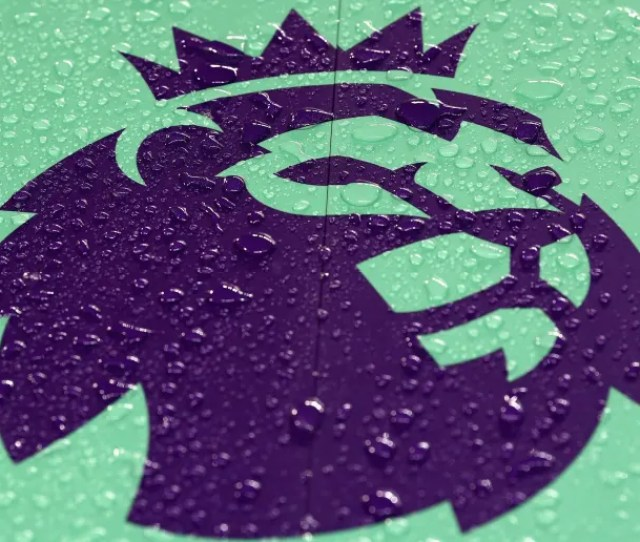 Manchester England January 02 The Premier League Logo Is Displayed Prior To The