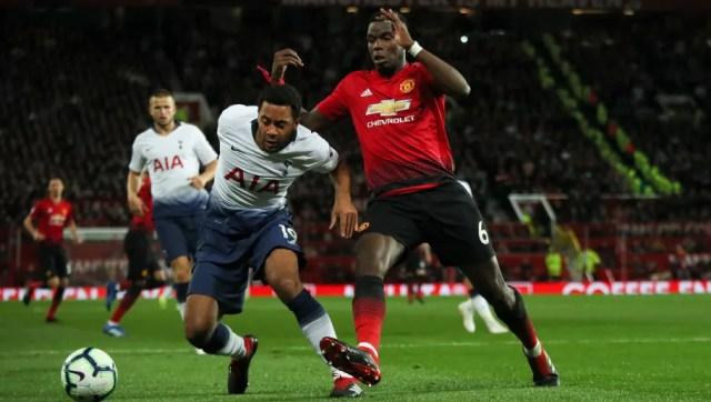 Image result for Tottenham and Man Utd