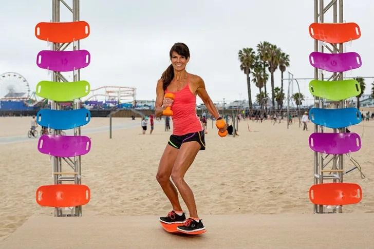 waist workout balancing board