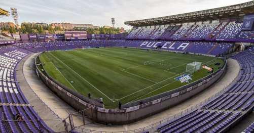 Ла Лига Барселона Валядолид терен Естадио Хосе Сория