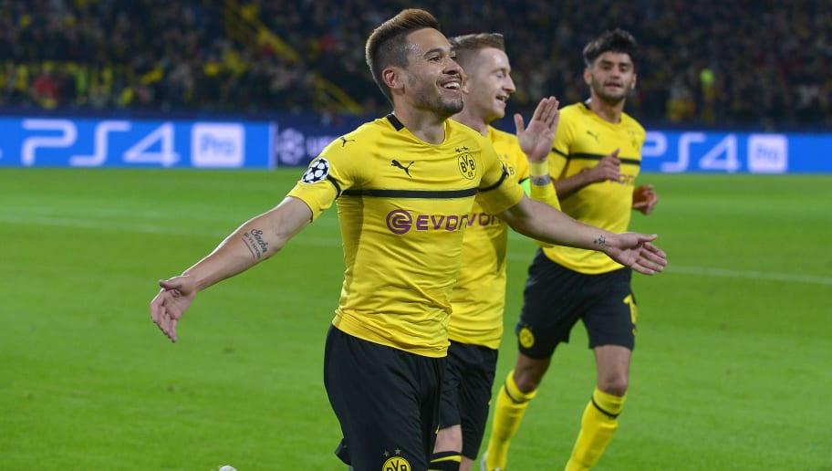 Pick 'Em: Champions League Team of the Week as Dortmund Fly and Spurs Crumble borussia dortmund v club atletico de madrid uefa champions league group a 5bd1cfacc19661c0cf000001