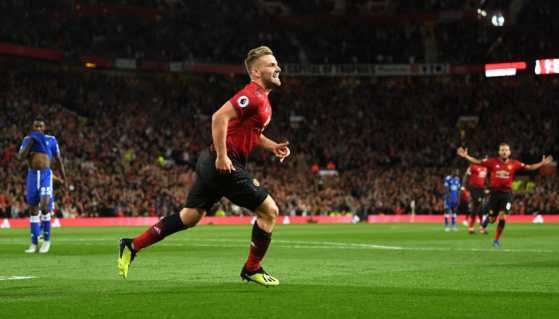 Image result for manchester united 2-1 leicester