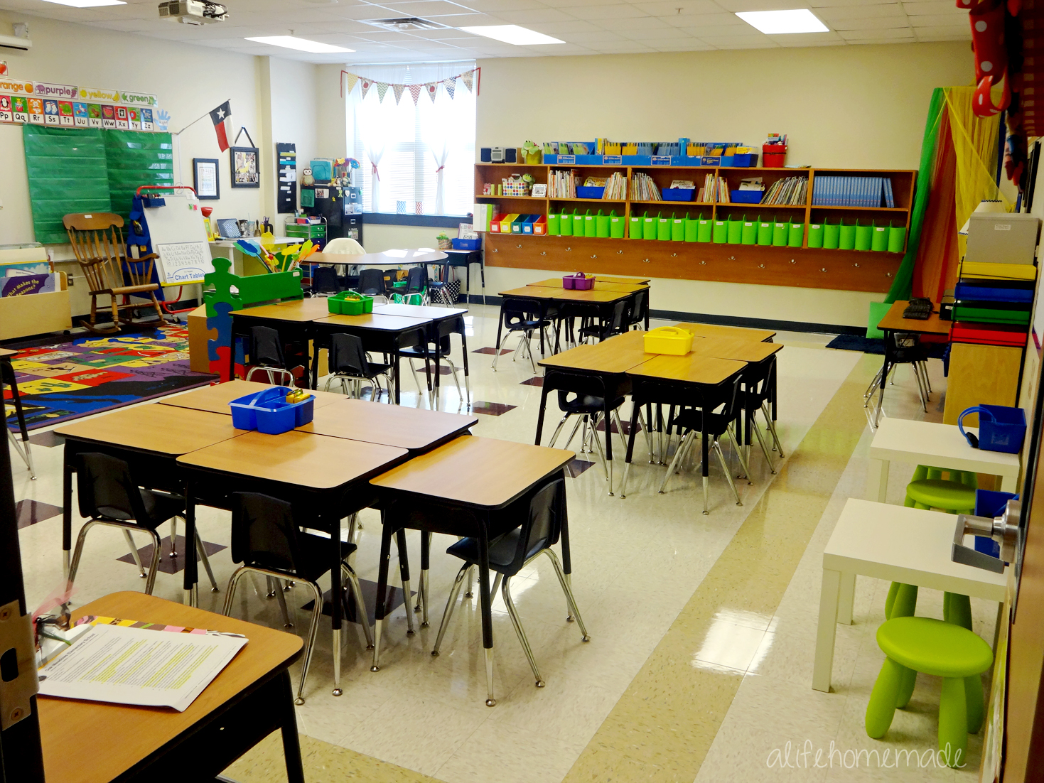 First Grade Classroom