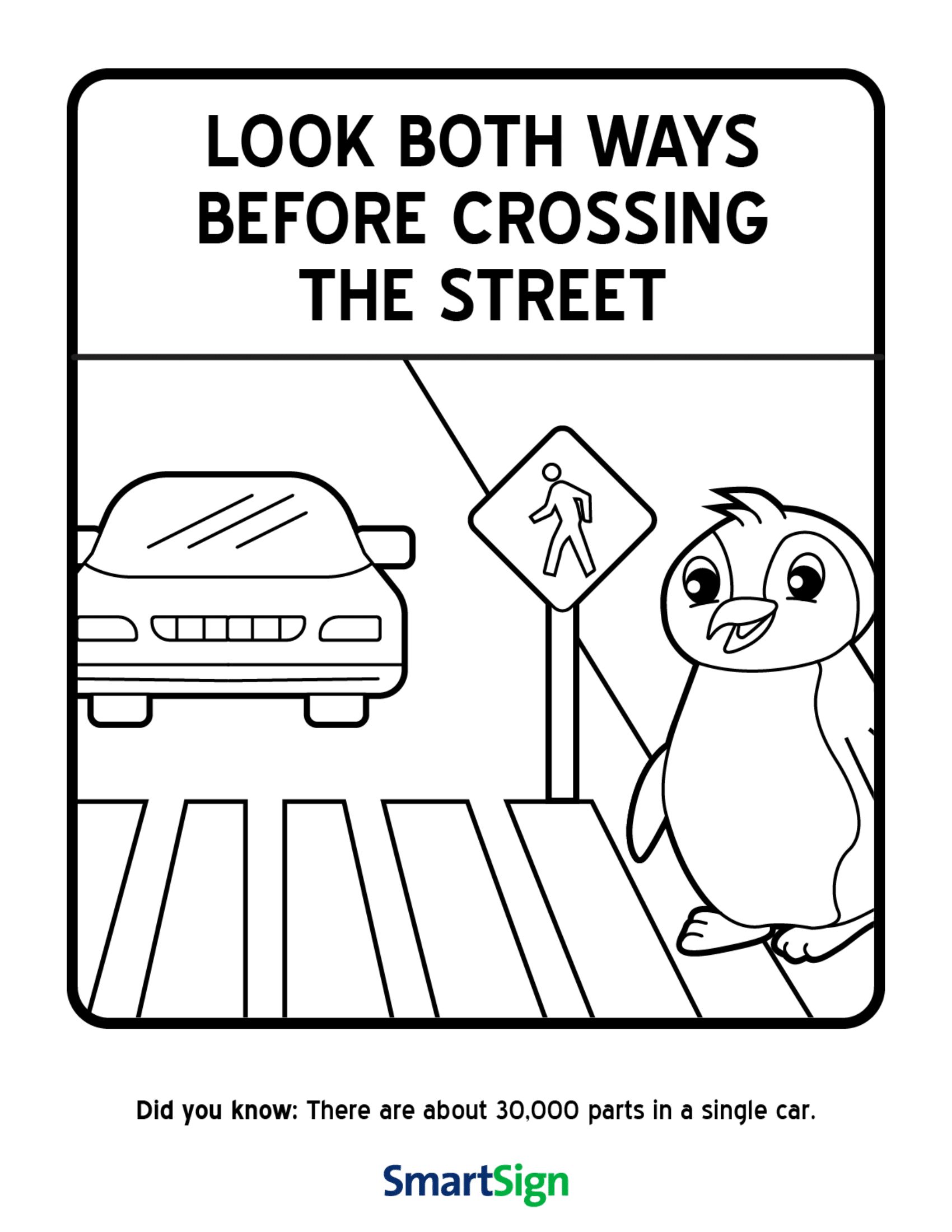Pedestrian Safety Week Lesson Plans For Preschool