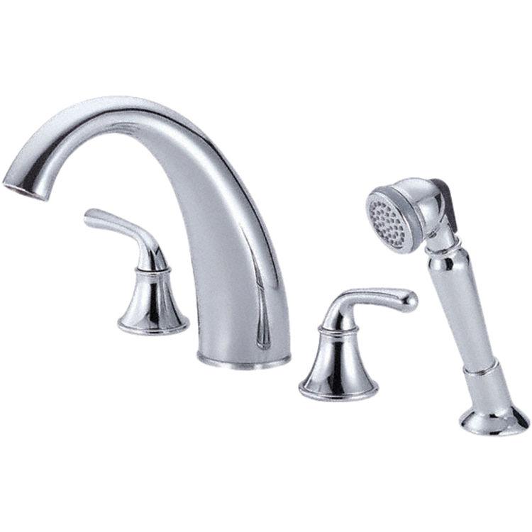 danze d307756 chrome roman tub faucet