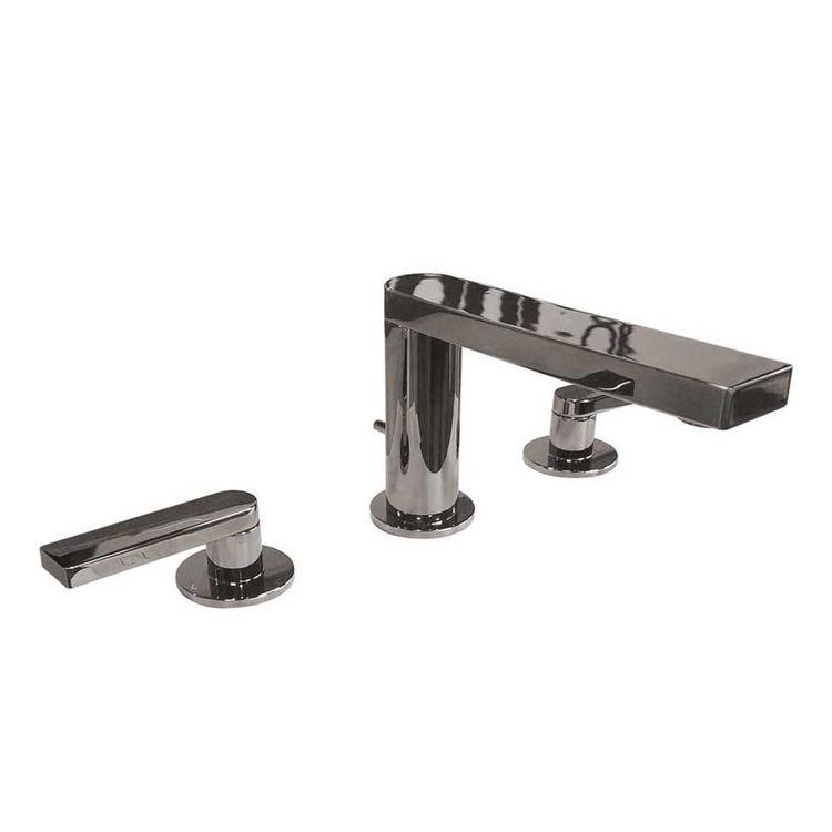kohler k 73060 4 tt composed widespread bathroom sink faucet with lever handles titanium