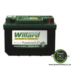 Deals On Willard Car Battery 636 Smf Brand New Compare Prices Shop Online Pricecheck