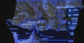 Map of Qumar, Fictional Middle Eastern Country, West Wing