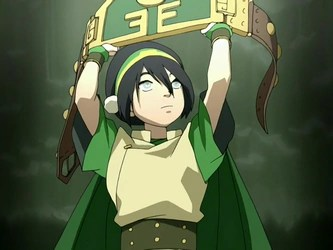 Toph from Avatar: The Last Airbender