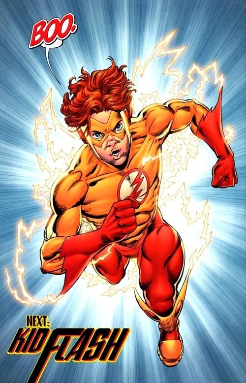 kid flash dc comics database
