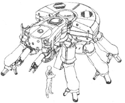 Kenbishi Standard Light Weight Tank - Ghost in the Shell Wiki