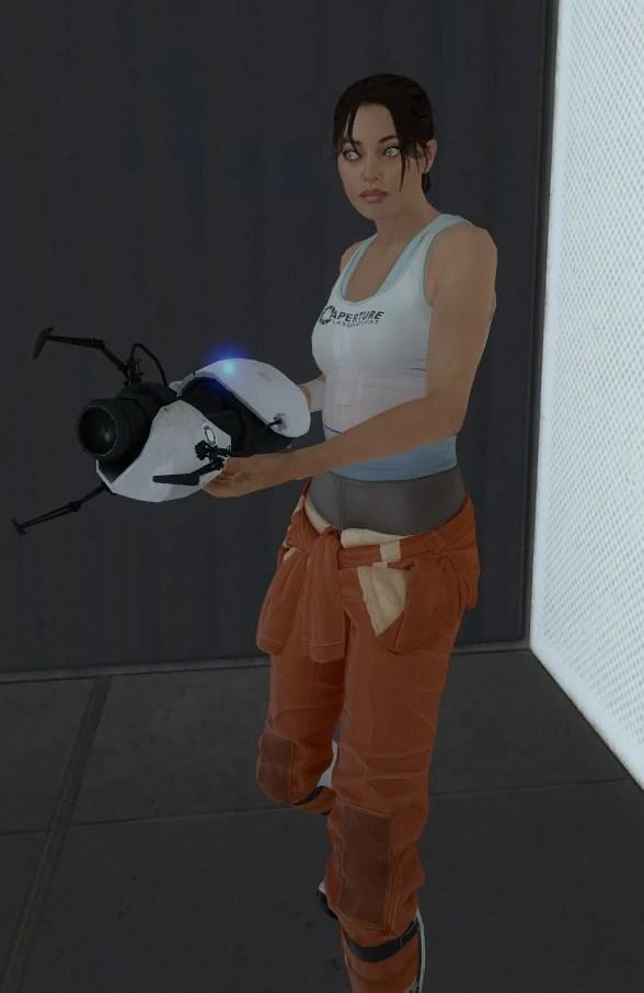 Image Chell Portal2jpg Half Life Wiki