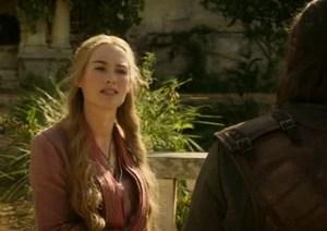 Cersei threatens Ned Stark