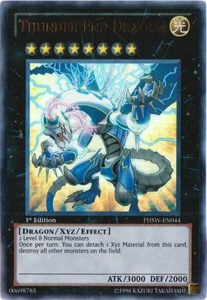 Card Of The Night Thunder End Dragon Undergrounduelists
