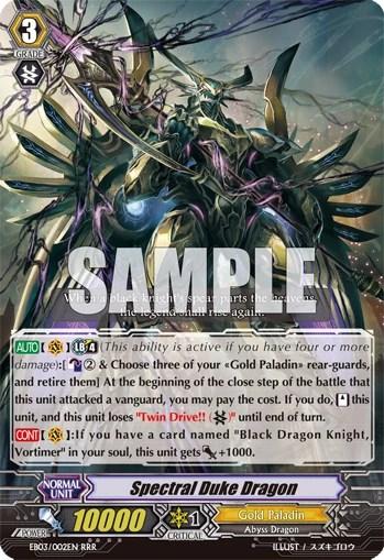 Deck Profile: Gold Paladin - Spectral Duke Dragon Edition ...