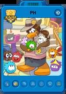 Puffle Handler Playercard (New)