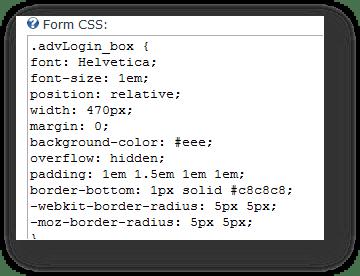 Description: dnn login module css