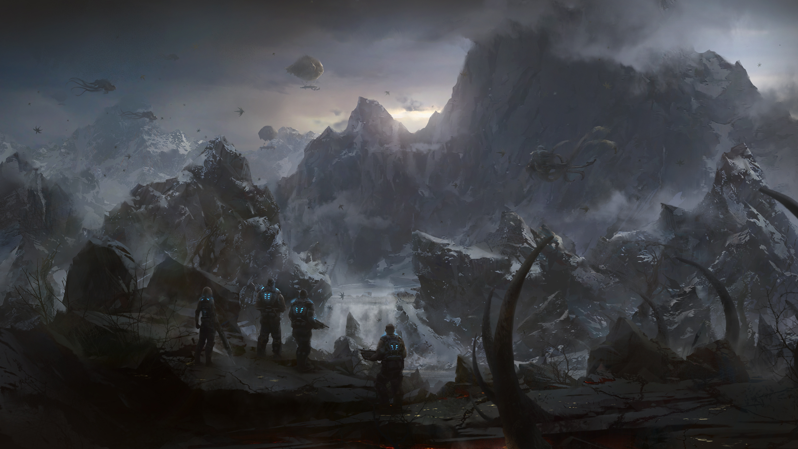 Gears Of War 3 Full HD Wallpaper And Background Image