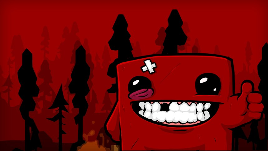 Image result for super meat boy