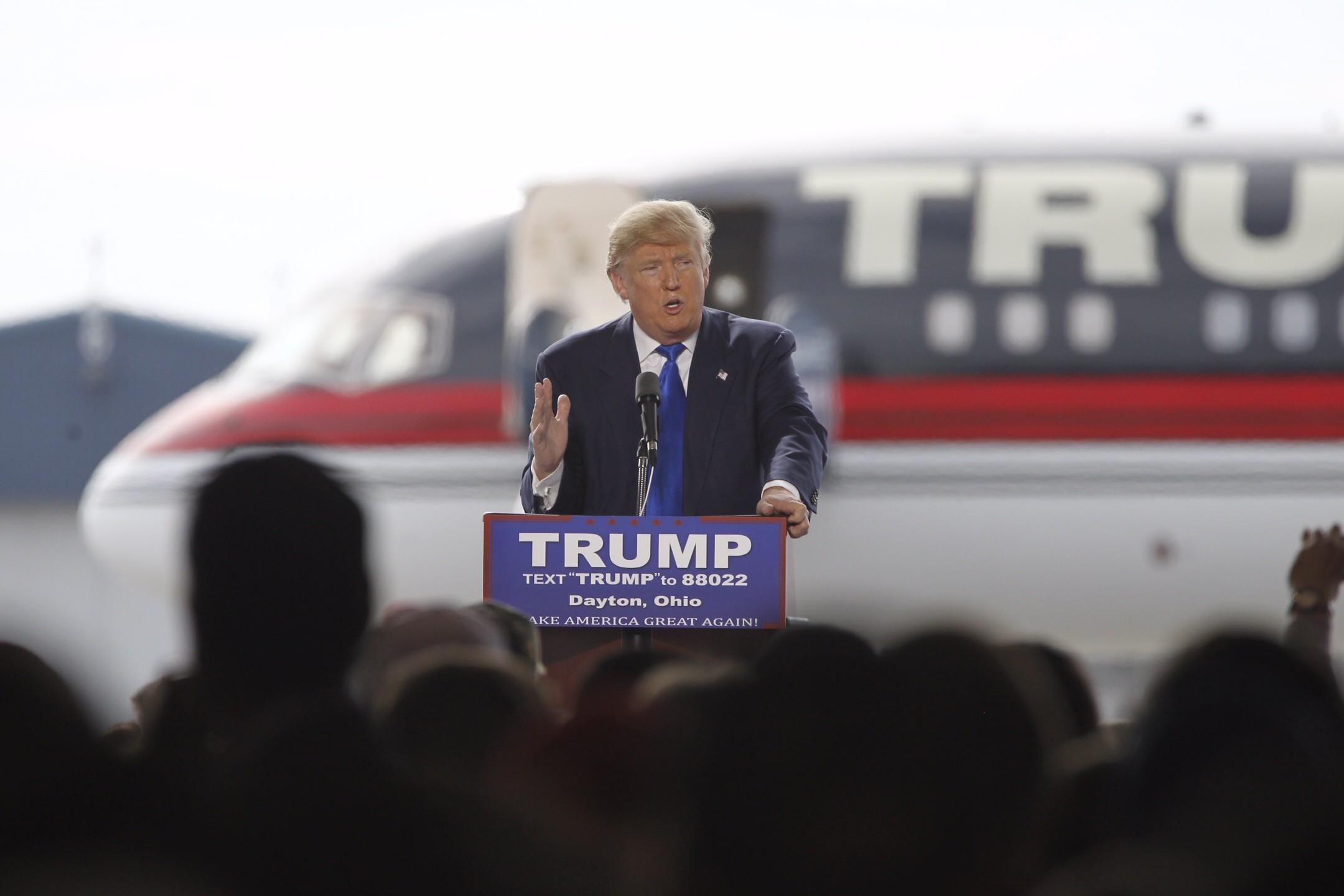 Donald Trump HD Wallpaper Background Image 2160x1440