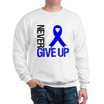 NeverGiveUp Colon Cancer Sweatshirt