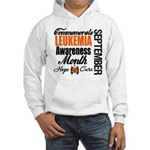 Leukemia Awareness Month Hooded Sweatshirt