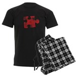 MY MISSING PIECE Men's Dark Pajamas
