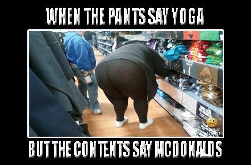 The Best Yoga Pants Memes Memedroid